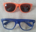 Logo imprinted sunnies cheap advertising sunglasses