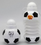 Folding Soccer Drink Bottle/Foldable Bottle